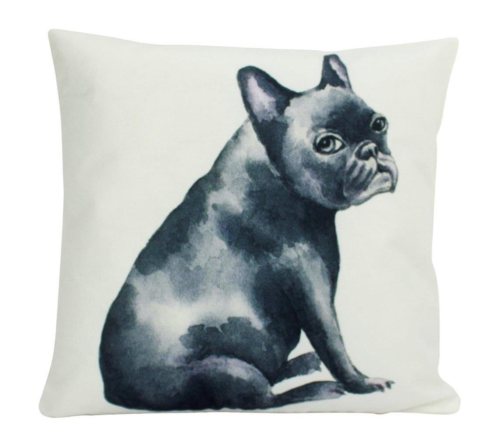 Dog | French Bulldog Black  | Pillow Cover | Gift for Dog Lover | Throw Pillow | Home Decor |  |   Dog Mom Gift | Dog Lover Gift