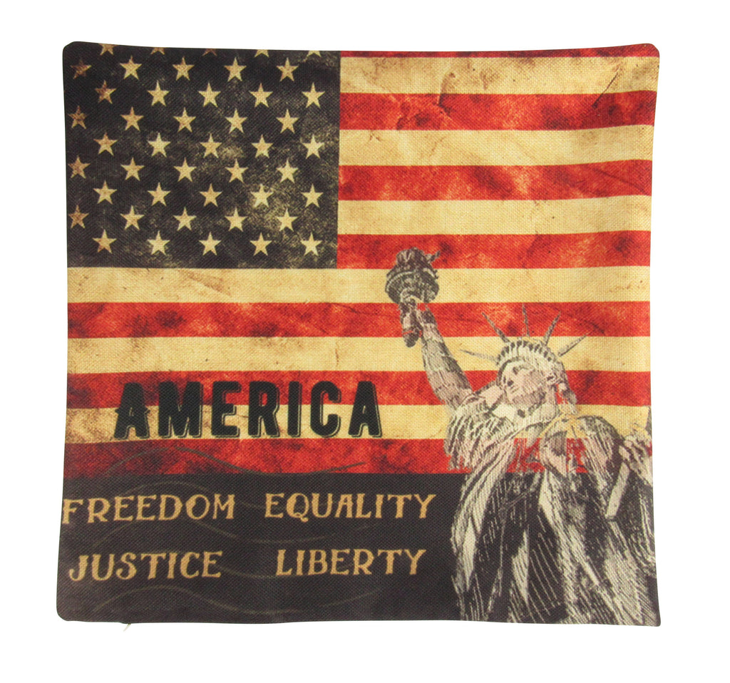 American Flag | Pillow Cover | American Flag Pillow | Throw Pillow | Home Decor | Vintage Pillow