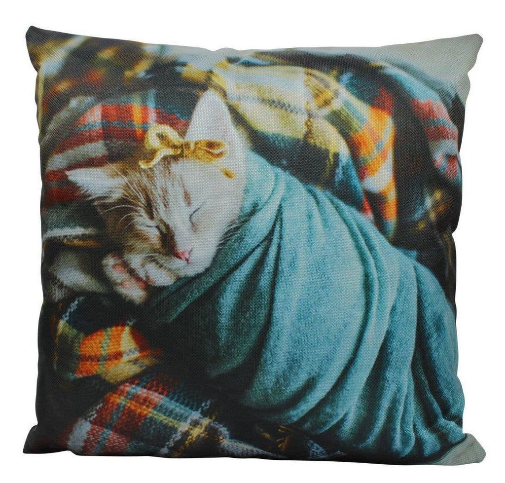 Cat | Sleeping Cat | Cat Pillow | Cute Cat | Cat Gifts | Cat Decor | Cat Photo | Gifts for Cat Lovers | Accent pillow | Throw Pillow Covers