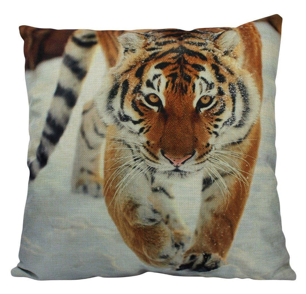 Tiger | Pillow Cover | Siberian Tiger | Throw Pillow | Pillow | Home Decor | Big Cats | Room Decor | Home Decor | Throw Pillow Covers