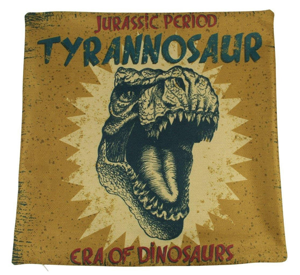 Trex | Pillow Cover | Tyrannosaur | Throw Pillow | T Rex | T-Rex | Boys Gift | Girls Gift | 18 x 18