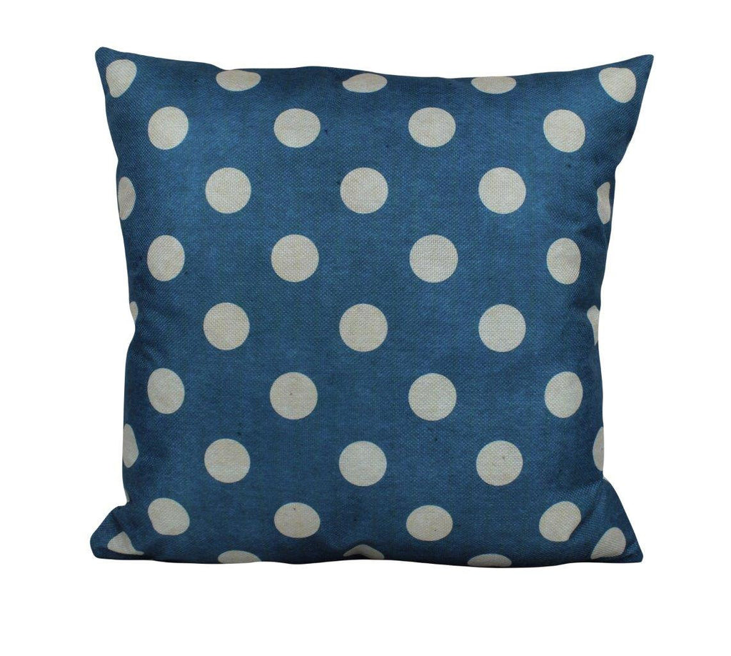 Land that I love blue Polkadots Pillow Cover | Throw Pillow | Home Decor | Freedom Pillow