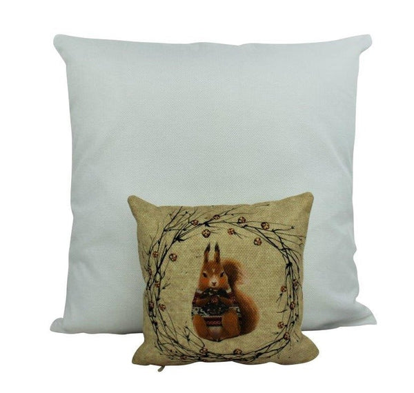 Mini Chipmunk | Throw Pillow | 8 x 8 | Squirrel | Home Decor | Cabin Decor Ideas  |Cabin