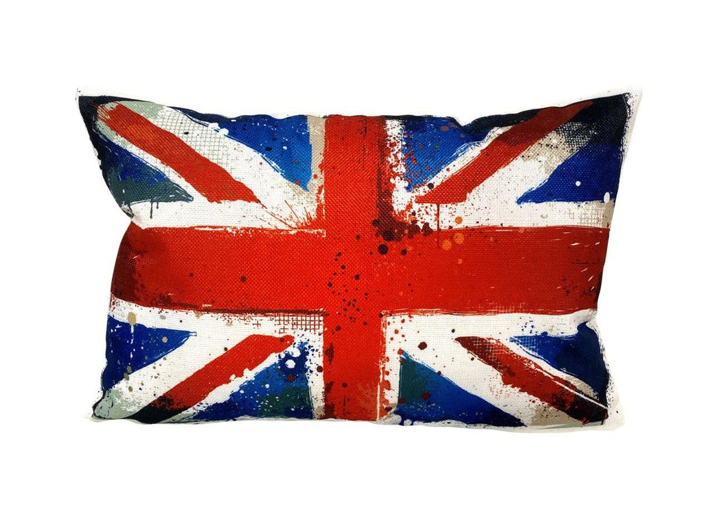British Flag | Adventure Time | Pillow Cover | Wander lust | Throw Pillow | Travel Decor | Travel Gifts | Gift for Friend | Gifts for Women
