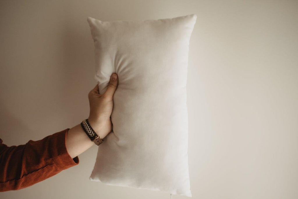 20x10 or 10x20 | Indoor Outdoor Hypoallergenic Polyester Pillow Economical Insert