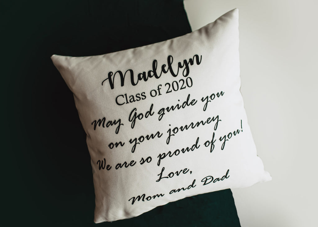 Graduation Gift | Graduation | Personalized Gifts | Personalized Decor | Custom Photo Gifts | Photo Gifts | Throw Pillow | Pillow | Custom
