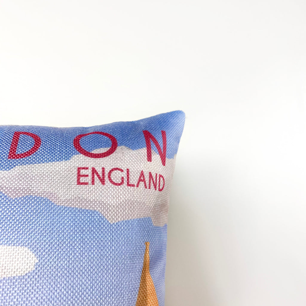 London Art | Adventure Time | Pillow Cover | Wander lust | Throw Pillow | Travel Decor | Travel Gifts | Gift for Friend | Gifts for Women