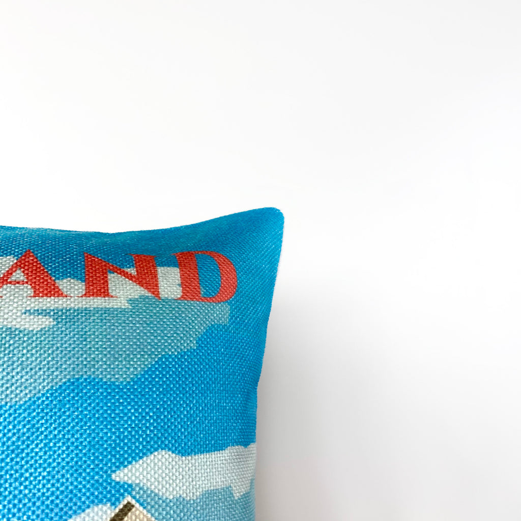 Holland | Adventure Time | Pillow Cover | Wander lust | Throw Pillow | Travel Decor | Travel Gifts | Gift for Friend | Gifts for Women