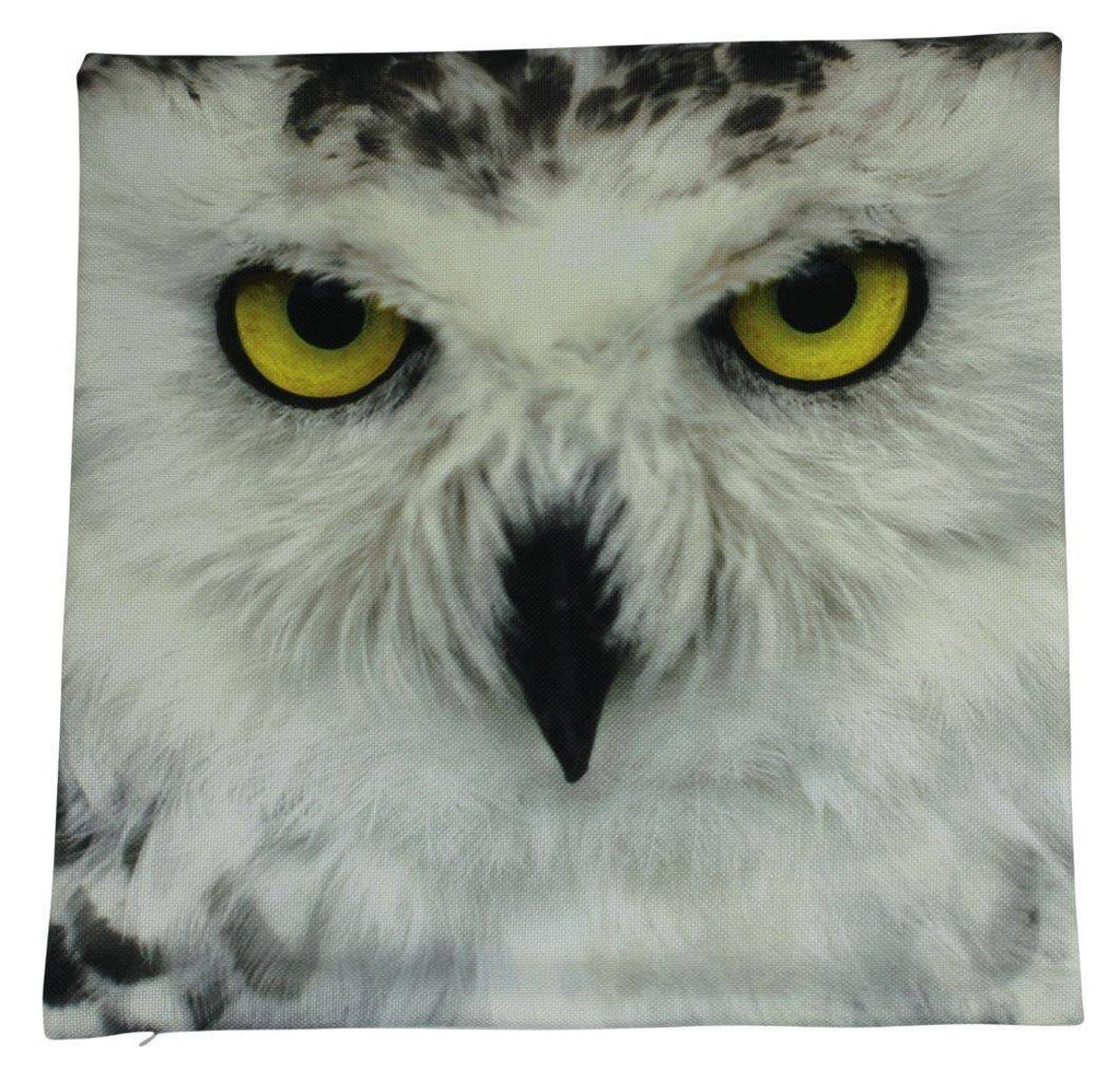 Snow Owl | Throw Pillow Cover | Bird Lover | Home Decor | Animal Lover