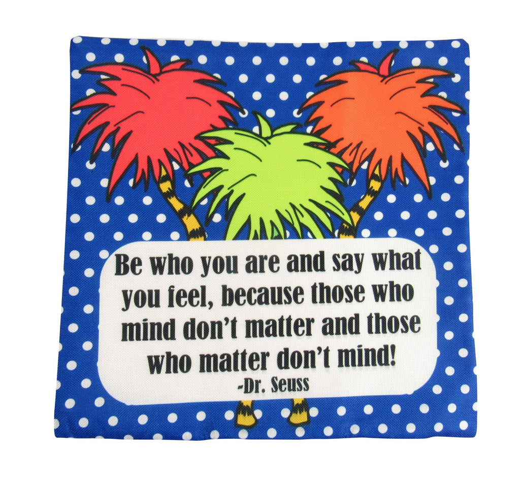 Be Who You Are | Fun Gifts | Pillow Cover | Home Decor | Throw Pillows | Happy Birthday | Kids Room Decor | Kids | Room Decor | Gift idea