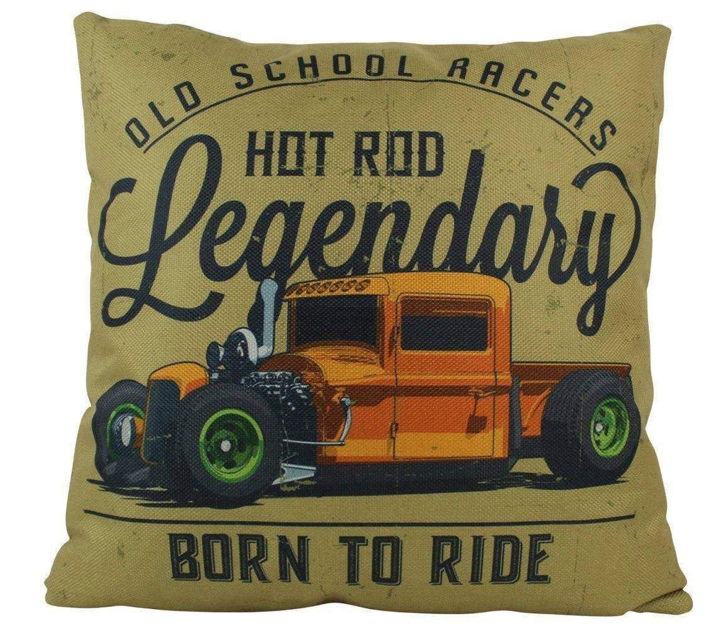 Hot Rod Roadster | Pillow Cover |  Throw Pillow | Pillow | Dad Gift | Classic Car | Gift Ideas | Pillow | Hot Rod | Room Décor
