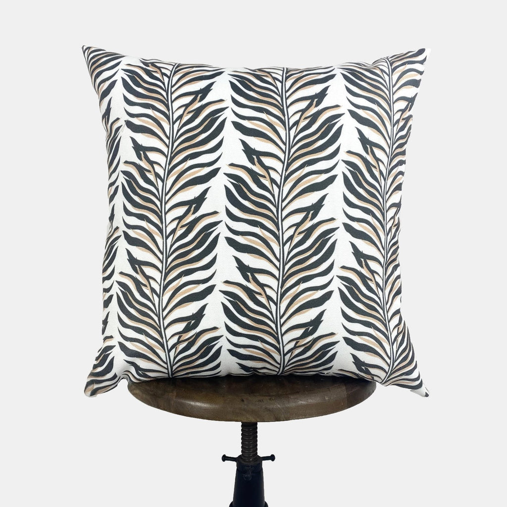 Jungle Leaves Pattern Repeat | Half Circle Pattern | Decorative Pillows | Mom Gift | Home decor | Room Decor | Bedroom Decor | Throw Pillows
