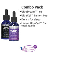 UltraDream 1 oz and UltraCell® Lemon 1 oz