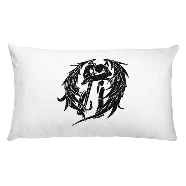 Zadkiel Distressed Premium Pillow