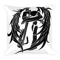 Zadkiel White Pillow