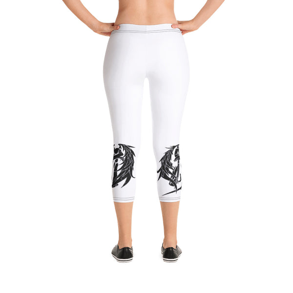 Zadkiel Capri Leggings