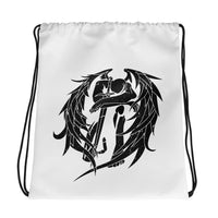 Zadkiel Distressed Drawstring bag