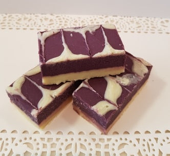 BOYSENBERRY & CREAM FUDGE