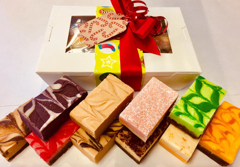 10 PCE CHRISTMAS FUDGE LOVERS GIFT PACK