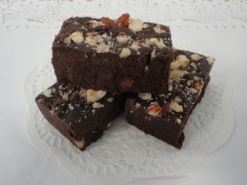 SF CHOCOLATE HAZELNUT FUDGE