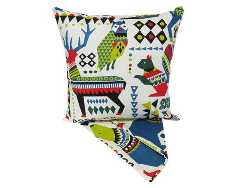 Colourful Bhutan Cushion Cover