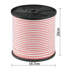 400m Roll Electric Fence Energiser Poly Tape