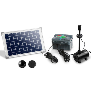 800L/H Submersible Fountain Pump with Solar Panel