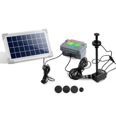 330L/H Submersible Fountain Pump with Solar Panel