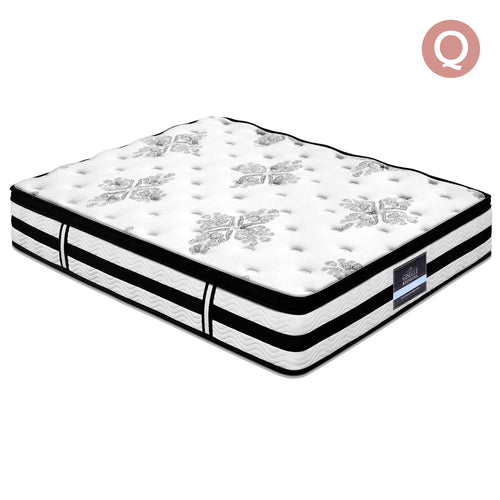 34CM Euro Top Mattress - Queen