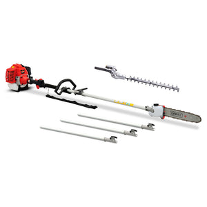 62CC 2in1 Pole Chainsaw Hedge Trimmer