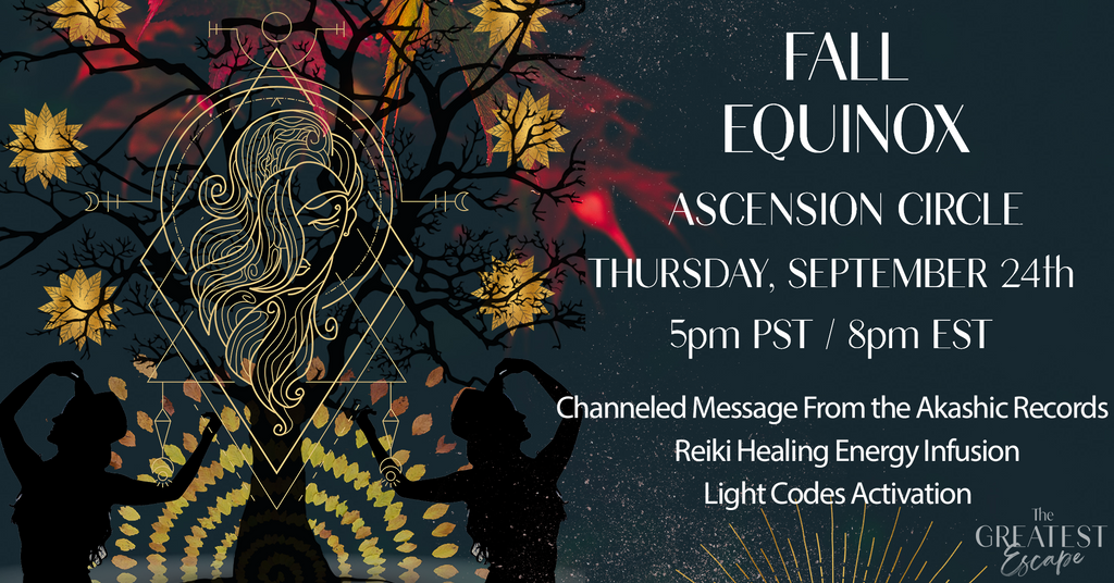 Fall Equinox: Light Codes Activation Circle (ONLINE, SEPTEMBER 24th)