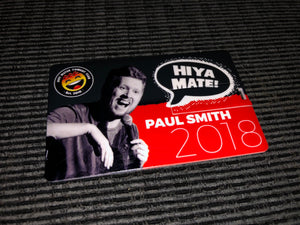 Paul Smith: Hiya Mate - 2018 USB Card