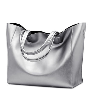 Amazing Looking Luxury Ladies Handbag - Sleek and Classy - Silver, Gold or Black - $69.00