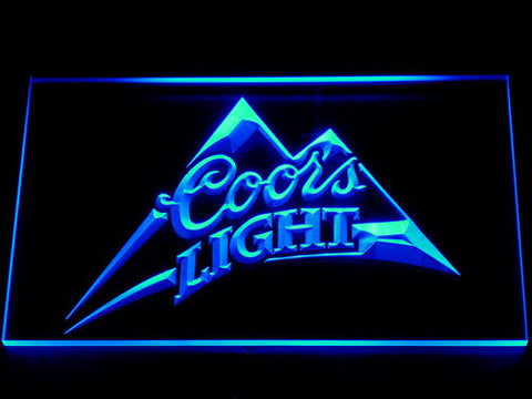 Bar signs the tapestree coors light led neon sign mozeypictures Choice Image