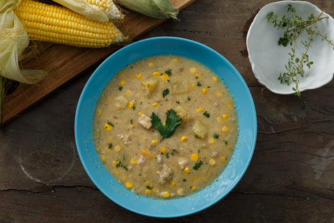 Chicken Corn Chowder  (350g)