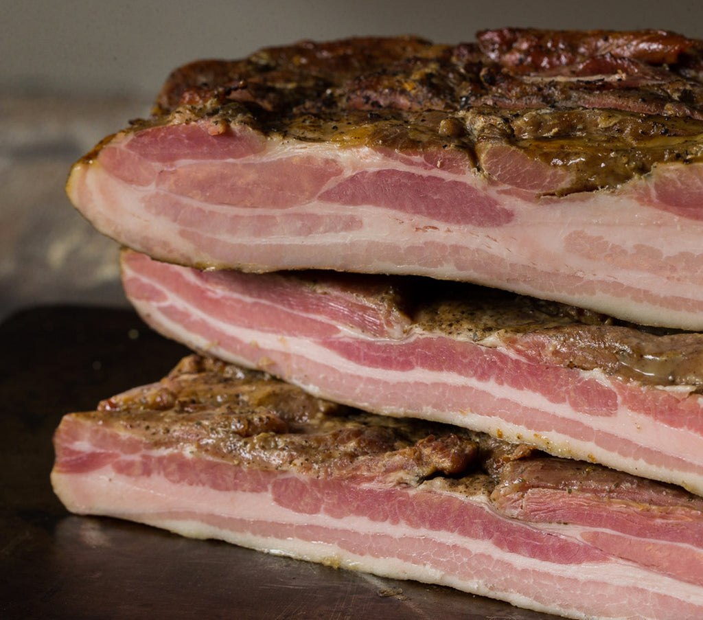 Applewood Bacon Slab (500g)