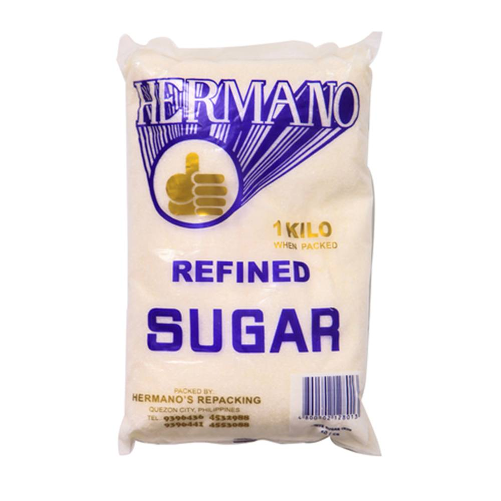 Hermano Refined Sugar - 1 kg - Mister Delicious