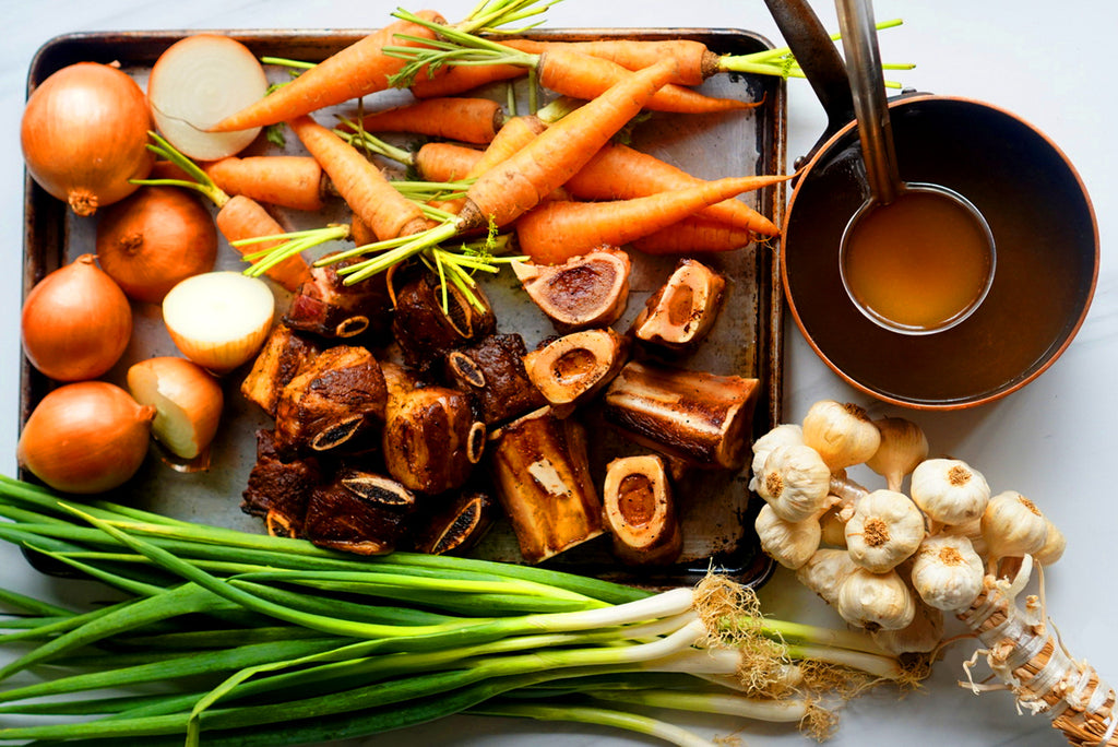 Roasted Beef Bone Broth, 500 ml - Mister Delicious