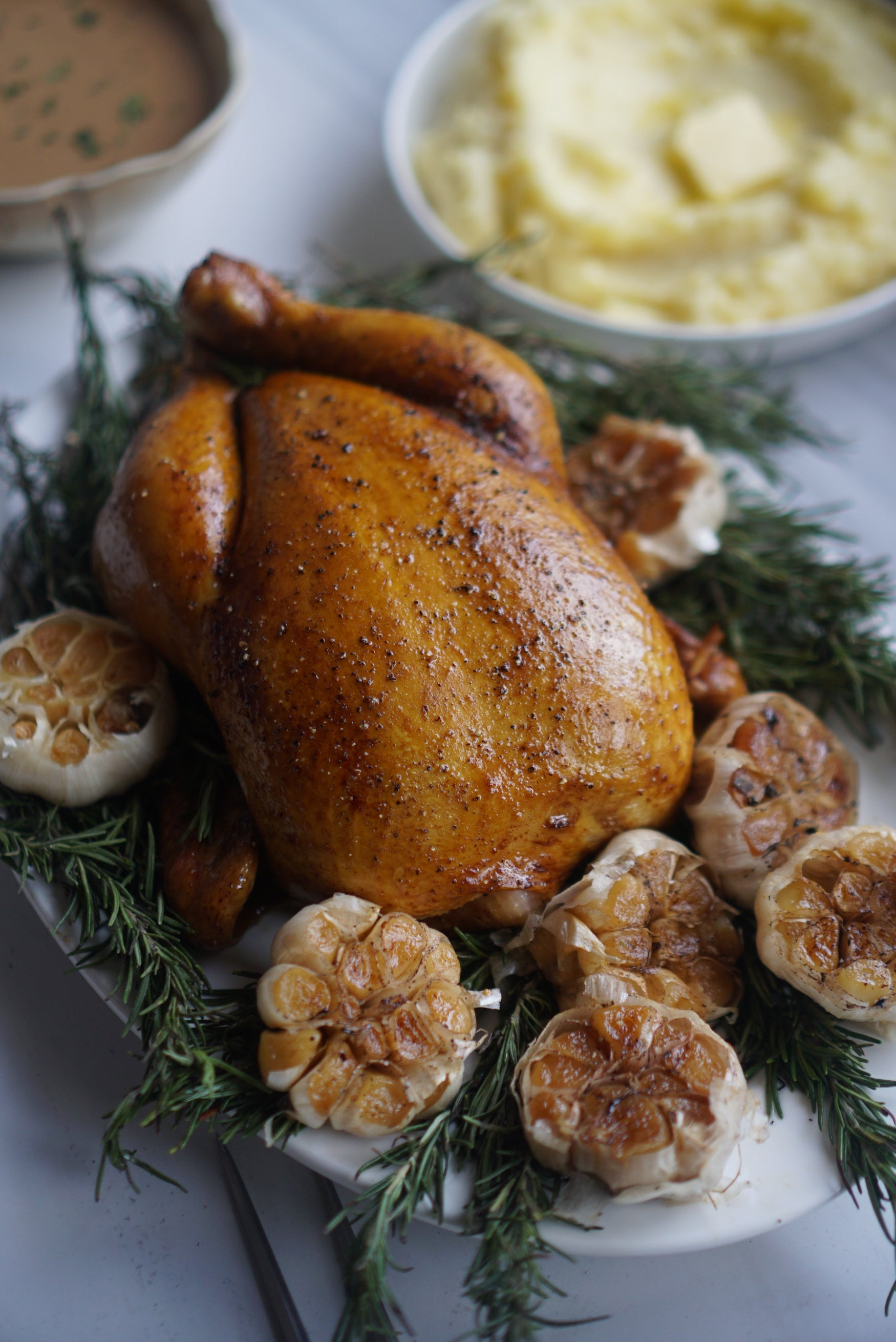 Garlic Confit Chicken (Smoked) *PRE-ORDER NOW!