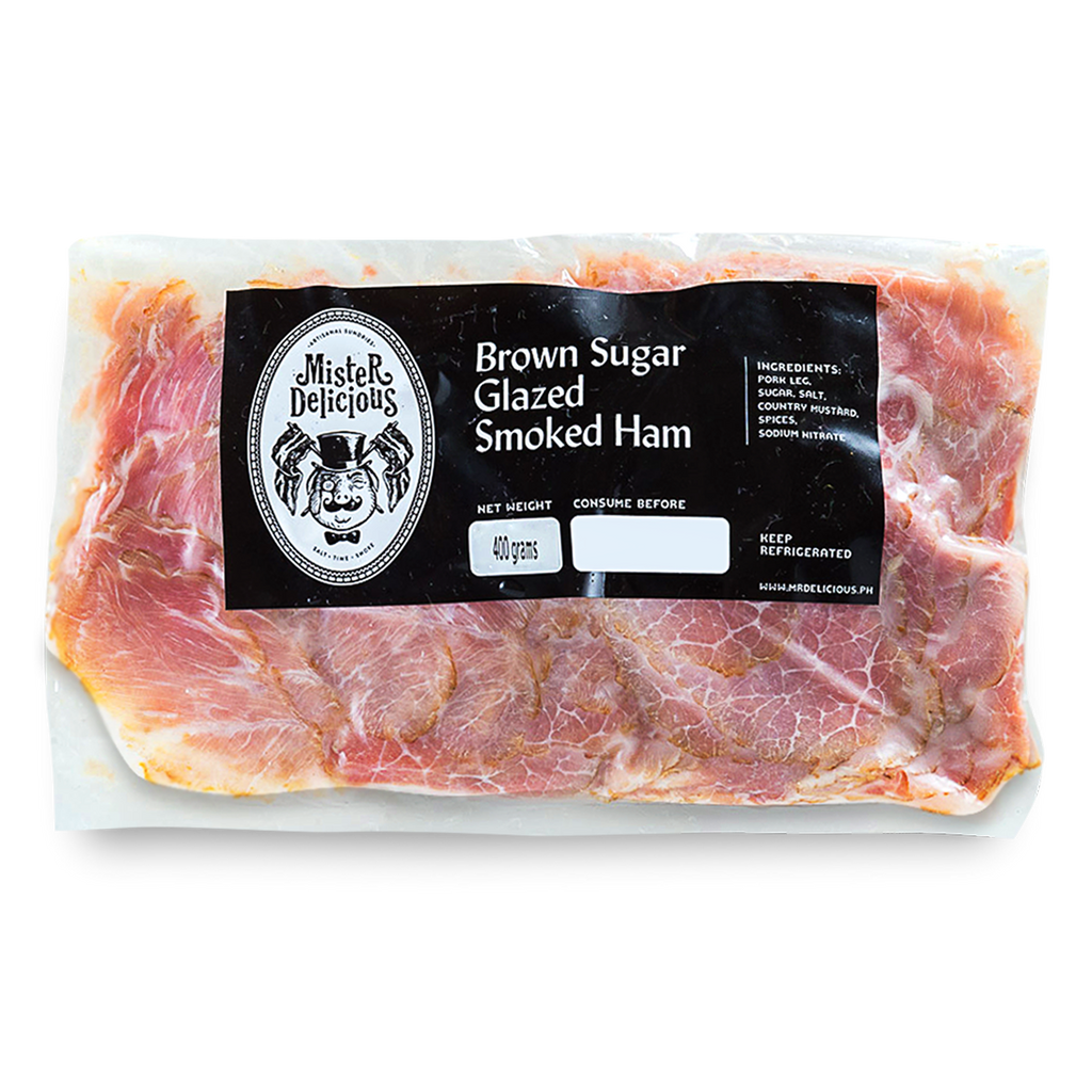Sliced Country Smoked Ham (300g) - Mister Delicious