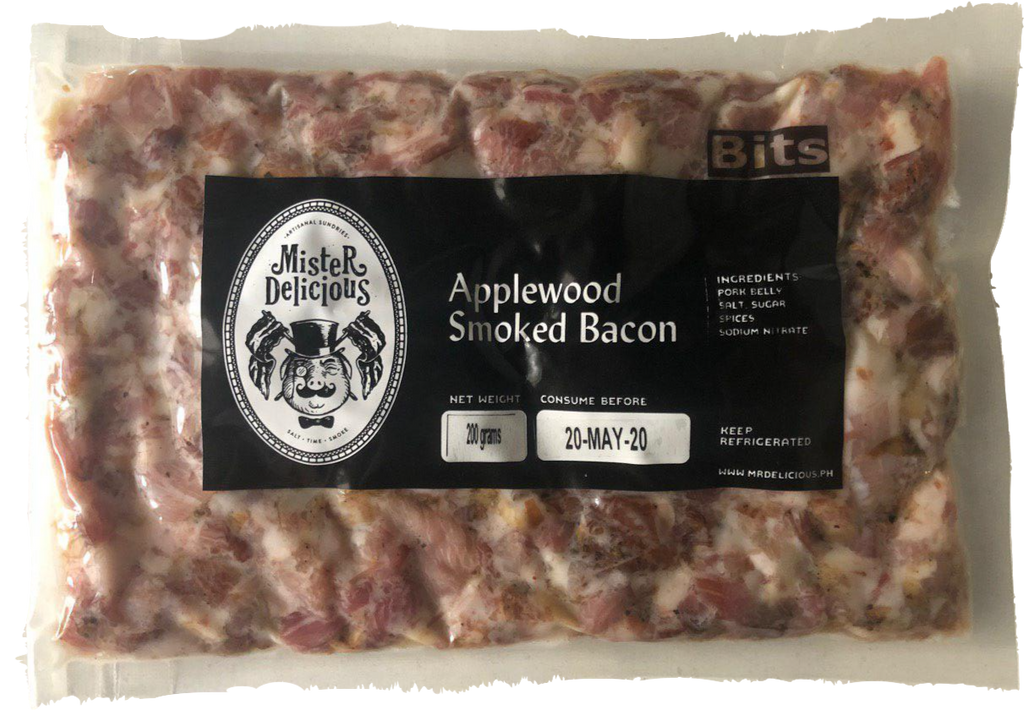 Applewood Smoked Bacon Bits (200 g) - Mister Delicious