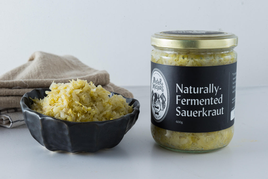 Naturally Fermented Sauerkraut (400g)