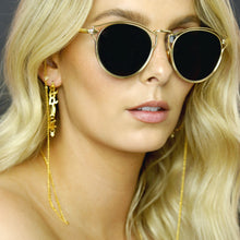 GOLD EYEWEAR - GOLD GLASSES CHAIN