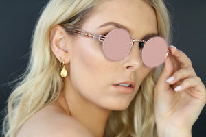 GOLD EYEWEAR THE OGs SUNGLASSES - ROSE GOLD