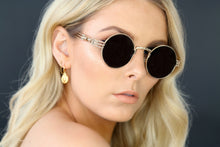GOLD EYEWEAR THE OGs SUNGLASSES - BLACK/GOLD