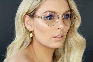 GOLD EYEWEAR THE OGs SUNGLASSES - GOLD FRAME