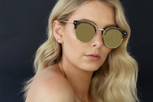 GOLD EYEWEAR SELF MADE SUNGLASSES - TORTOISE SHELL