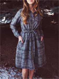 Ronnie Plaid Dress