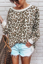 Fashion Leopard Print Long Sleeve T-Shirt - lolabuy