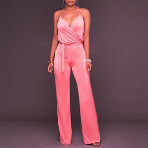Fashion Sling Slim Jumpsuit